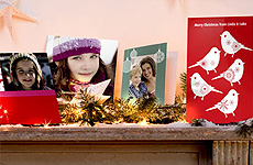 Personalised Christmas photo gift Greeting Cards